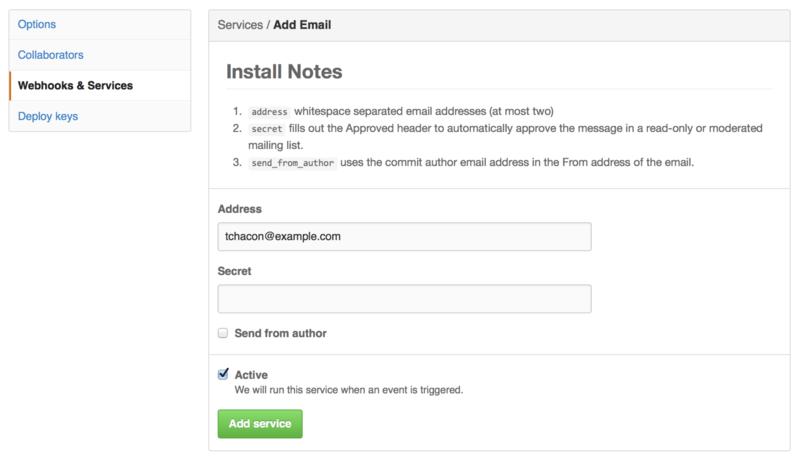 电子邮件服务