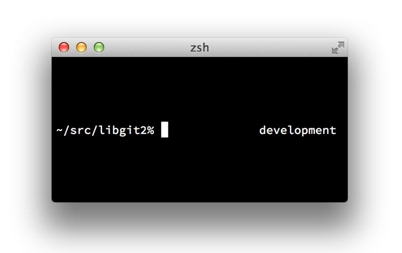 Git - Git in Zsh
